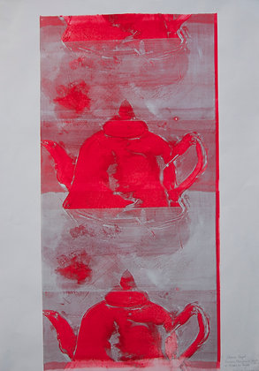Chinese Teapot, Ghost Print