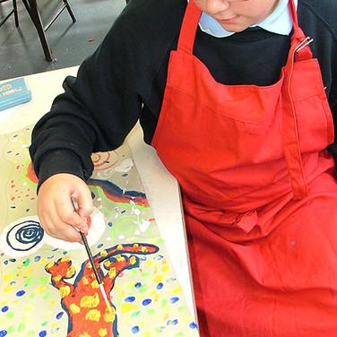 Yr 7 Aboriginal Art