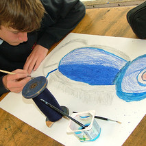 Year 7, observational drawing
