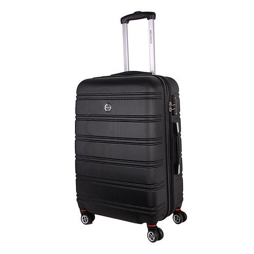 World Traveler Montreal Carry-On Hardside Spinner Luggage Set