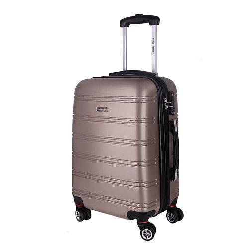 World Traveler Hardside Bristol ll Carry-On Spinner Luggage - Champagne