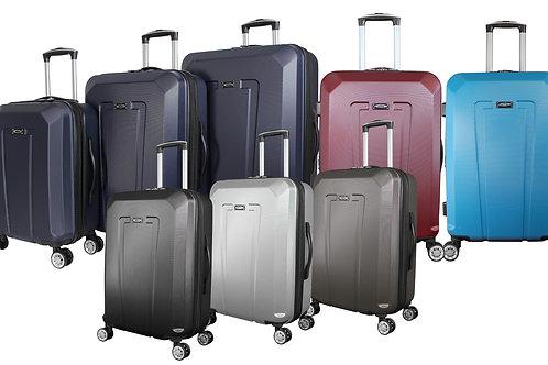World Traveler Kemyer Hardside 3-piece Expandable Spinner Luggage Set
