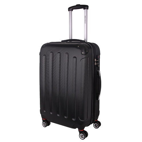 World Traveler Milan Collection Carry-On Hardside Spinner Luggage Set