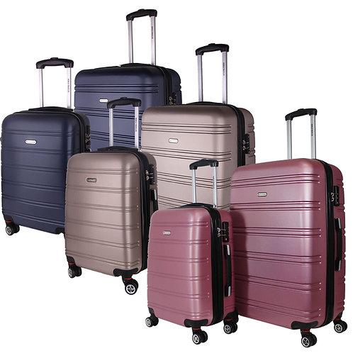 World Traveler Bristol II Hardside 2-Piece Spinner Luggage Set