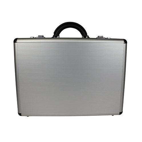World Traveler Copa Aluminum Silver 5-inch Attache Case