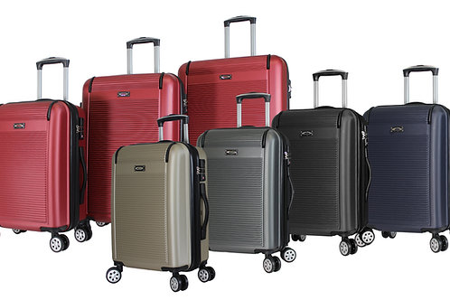World Traveler Kemyer Malibu Hardside 3-piece Expandable Spinner Luggage Set