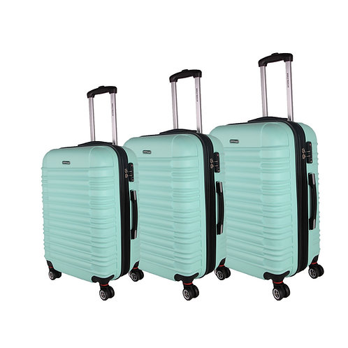 World Traveler California II 3-piece Hardside Spinner Luggage Set