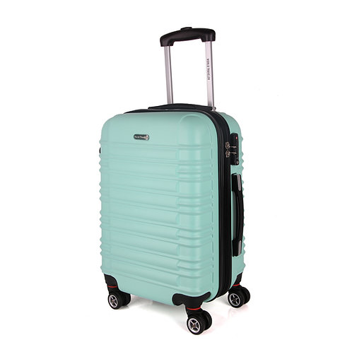 World Traveler California II Carry-On Hardside Spinner Luggage Set - Mint