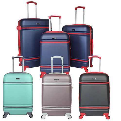 World Traveler American Collection Hardside 3-Piece Spinner Luggage Set