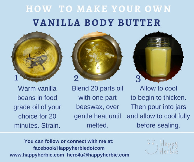How to make your own Vanilla Body Butter