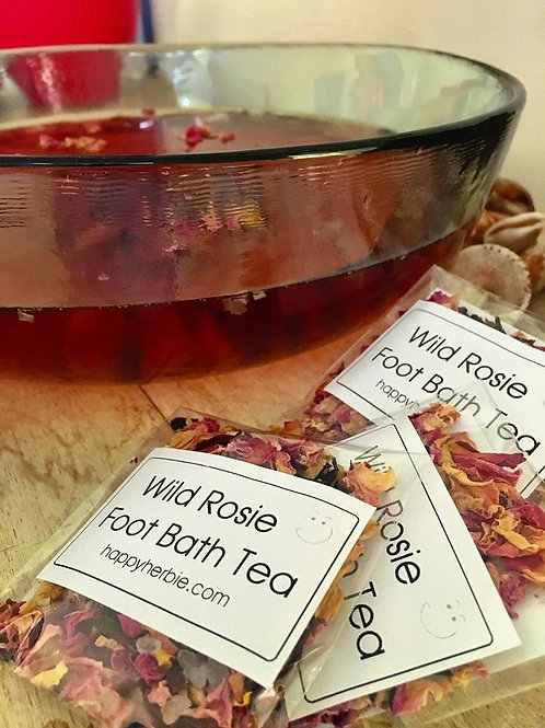 Wild Rosie Foot Bath Tea