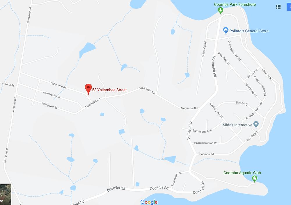 53 Yallambee Street, Coomba Park 2428 map