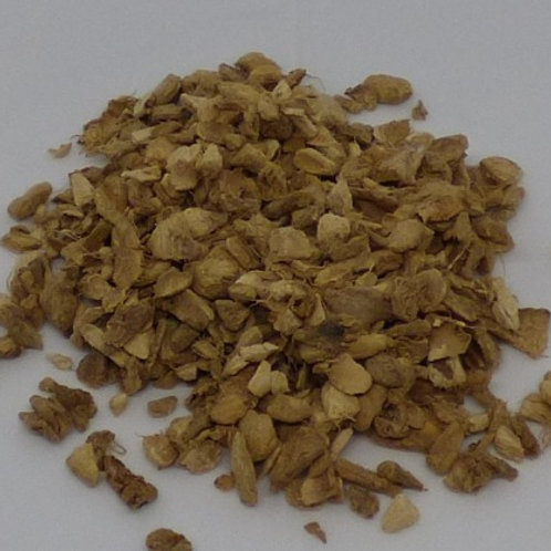 Ginger Root - cut, 100gm