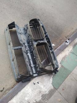Замена диффузора радиатора BMW F10