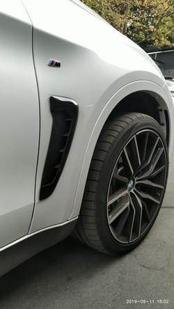 Установка тормозов на BMW X6