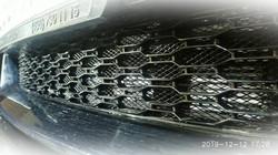 Установка защитной сетки в бампер BMW G30