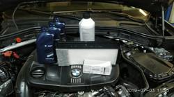 ТО на BMW F10