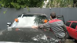 Замена лобового стекла на Mitsubishi Pajero 4