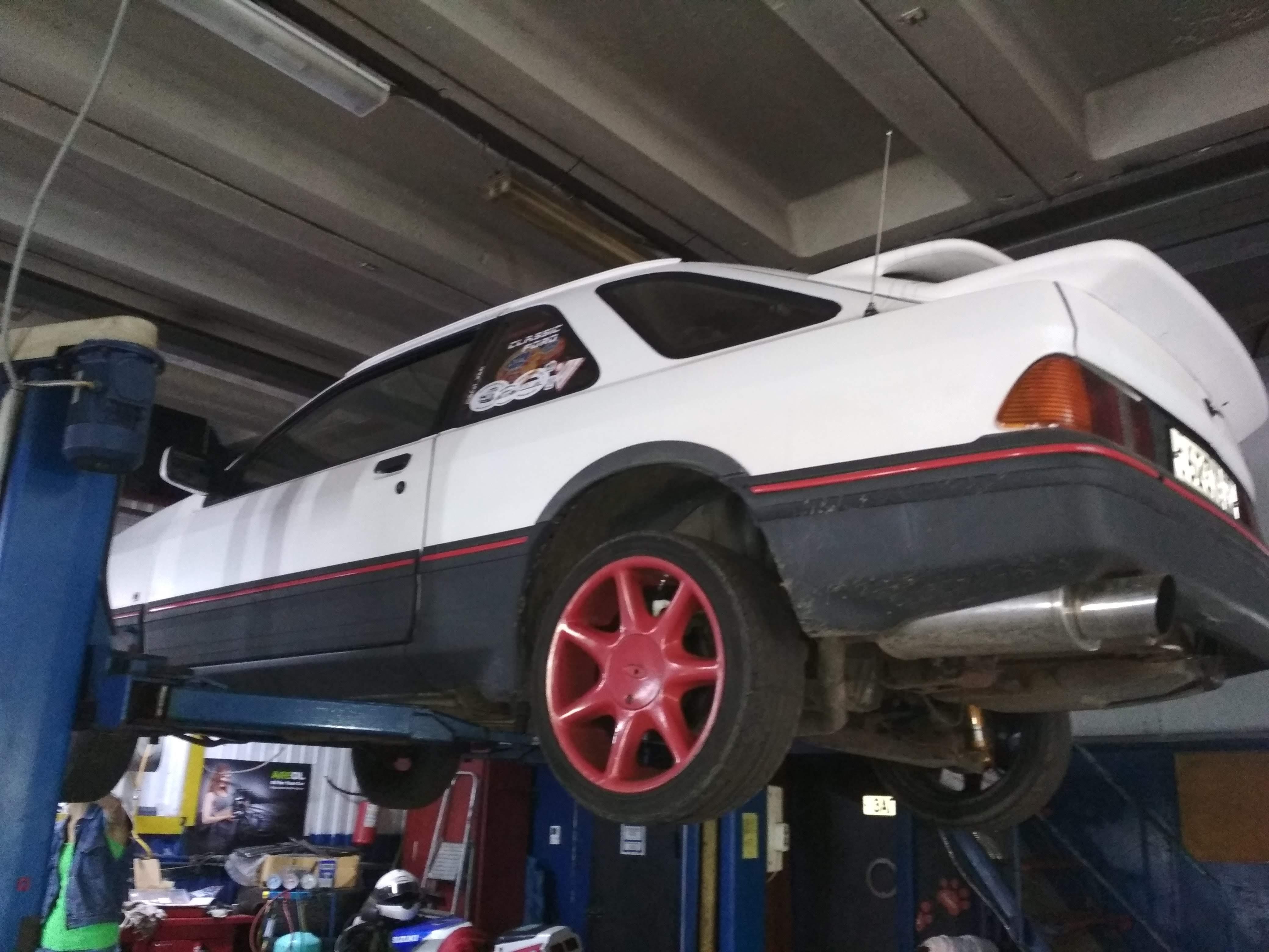 Диагностика ходовой Ford Sierra XR4i
