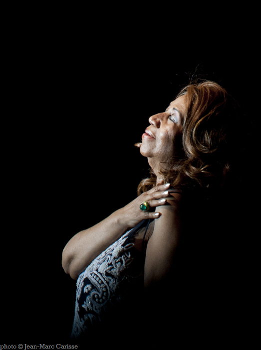 Aretha Franklin © J.M.Carisse 2014