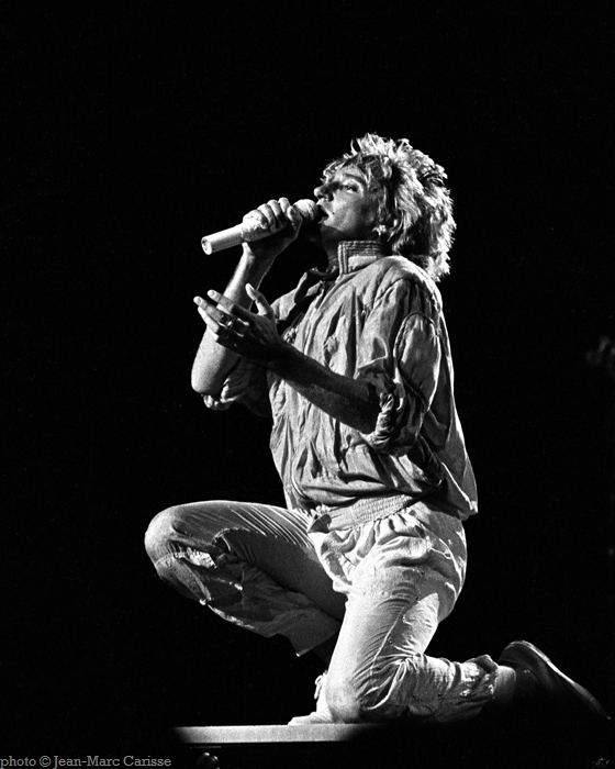 Rod Stewart, ©Jean-Marc Carisse 1986