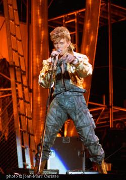 David Bowie ©Jean-Marc Carisse 1987