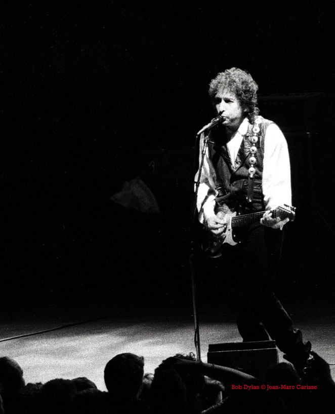 Bob Dylan - © Jean-Marc Carisse