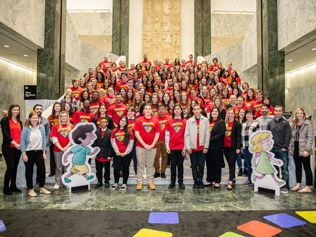 Teens Visit Lawmakers in Albany for Legislative Education Day