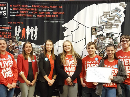 Two Cortland Students Win Statewide and Central Region Youth Advocate of the Year Awards and Visit w