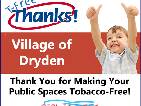 Dryden Village Board unanimously passed a local law for tobacco-free property