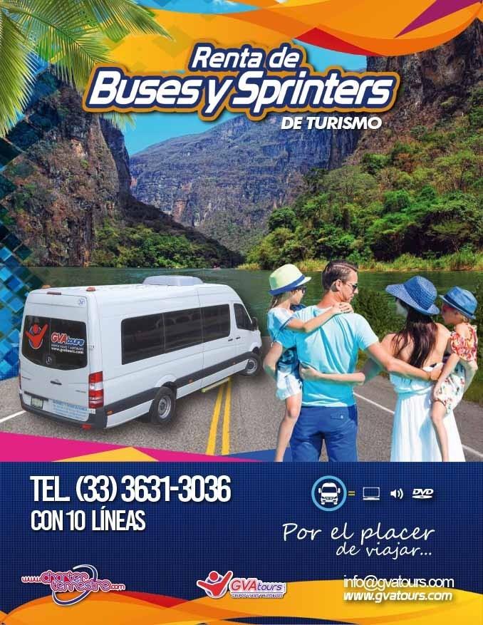RENTA DE SPRINTER GVA TOURS