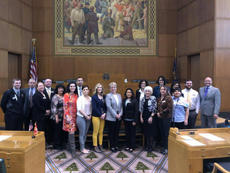 Representative Greg Smith Hosts Leadership Hermiston Day at the Capitol