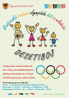 Uničovská rodinná olympiáda dětí a mládeže