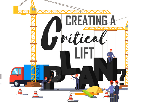 Creating A Critical Lift: Here's What You Should Know