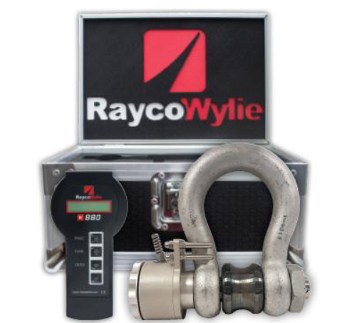 A stainless steel W880 RaycoWylie load shackle.