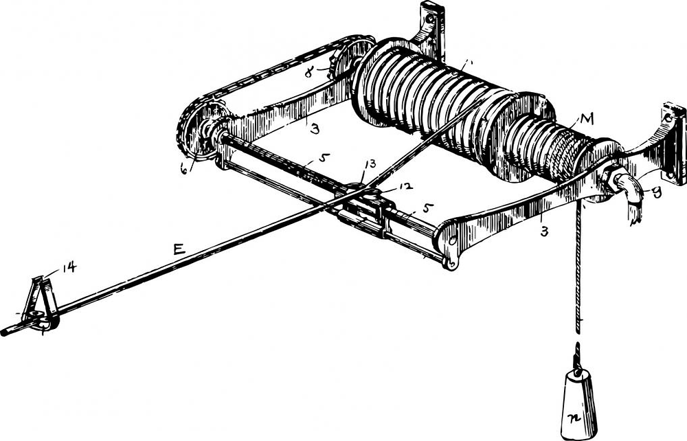 An illustration of a hoisting apparatus