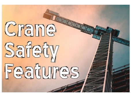 Crane Safety Features: A Guide To The Main Ones