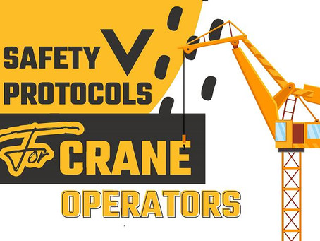 Safety Protocols For Crane Operations