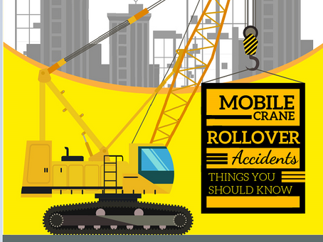 Mobile Crane Rollover Accidents: Things you should know