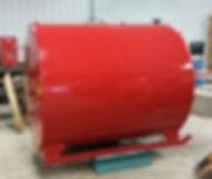 Gasoline Skid Tank