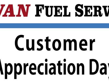 Customer Appreciation!
