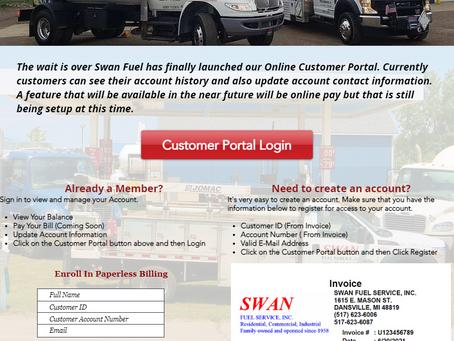 New Online Customer Portal