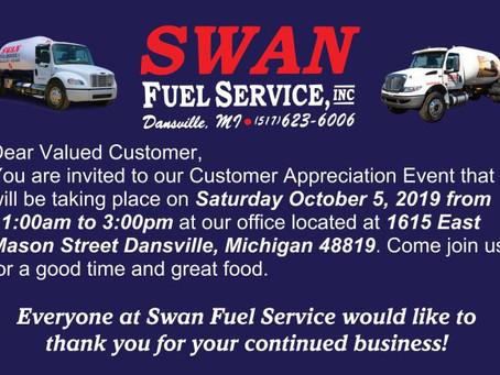 2019 Customer Appreciation Event