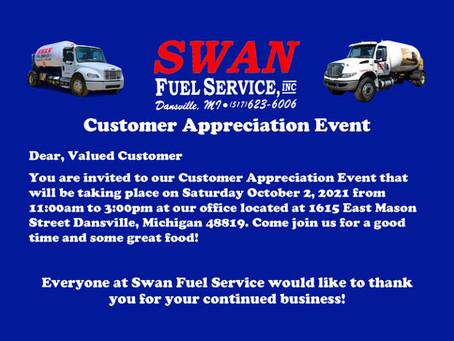 2021 Customer Appreciation Event