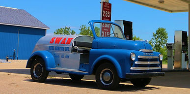 Old Fuel Oil Truck