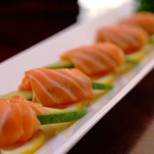 Salmon Avocado Sashimi