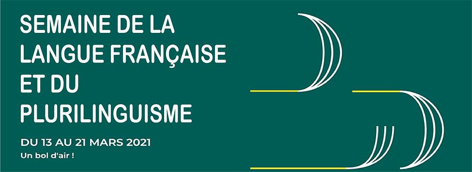 semaine de la langue française ET PLURI