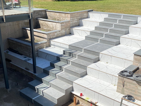 New Steps for The Didsbury Baufritz House