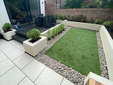 Contemporary Garden in Hale Manchester