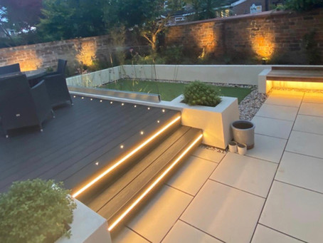 Contemporary Garden in Manchester